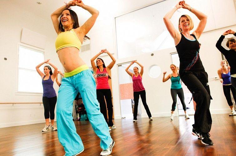 Тренировка для похудения зумба